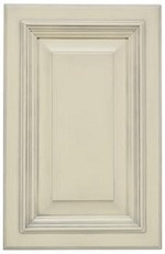 French Vanilla Pewter Mist Door Sample