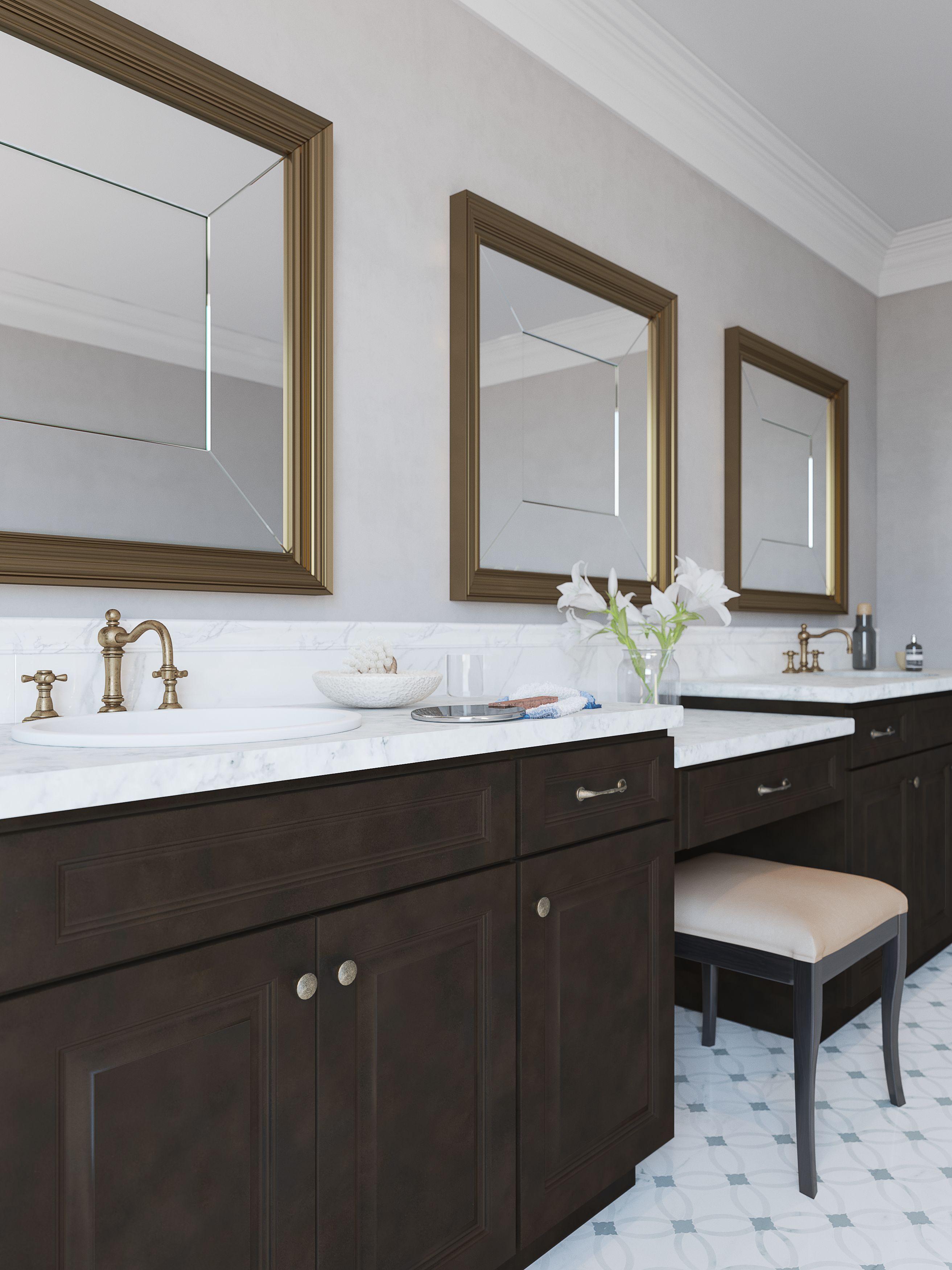 Buy RTA Java Marquis Kitchen And Bath Cabinets, RTA