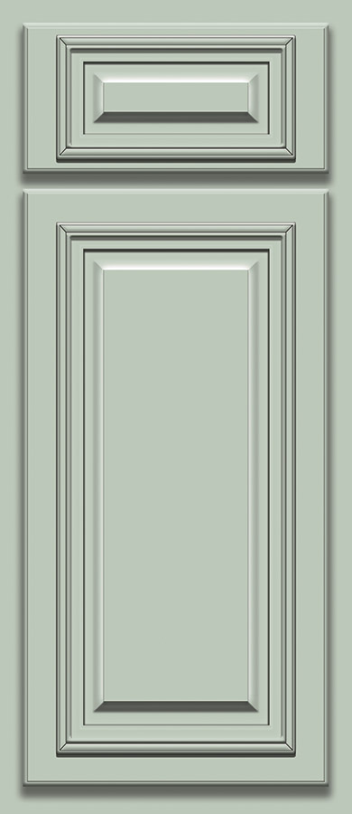 Sage Deluxe Door Sample (Custom Door Color)