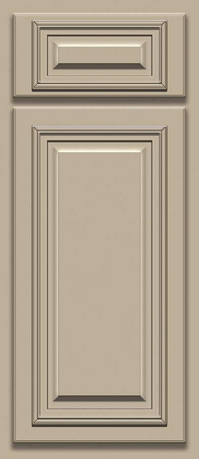 Khaki Deluxe Door Sample (Custom Door Color)