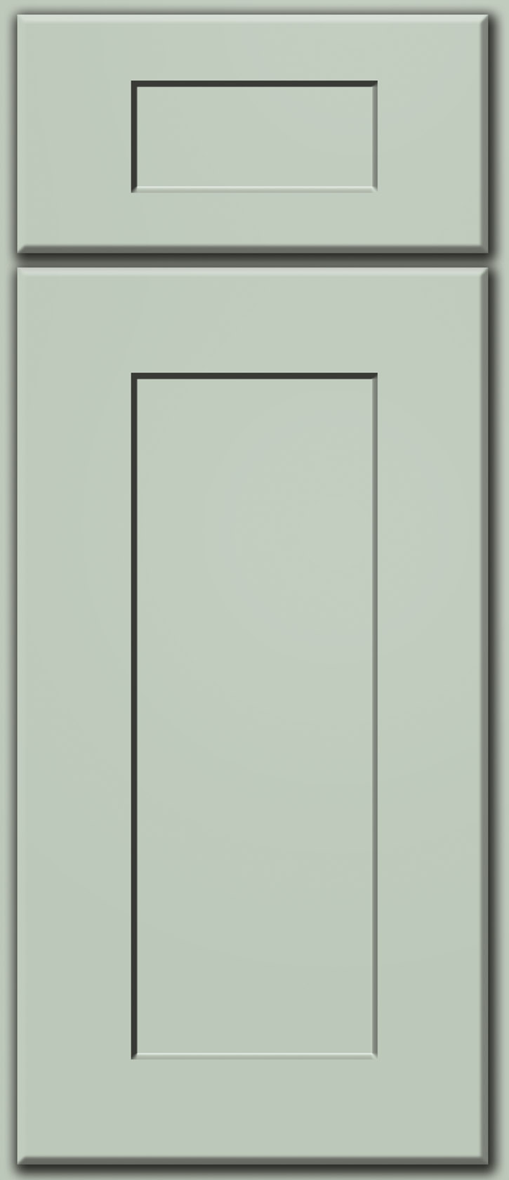 Sage Shaker Door Sample (Custom Door Color)