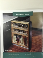 Door Front Kit For 6 Inch Base Filler Spice Rack