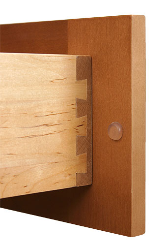 Solid Wood Dovetailed Drawer Box
