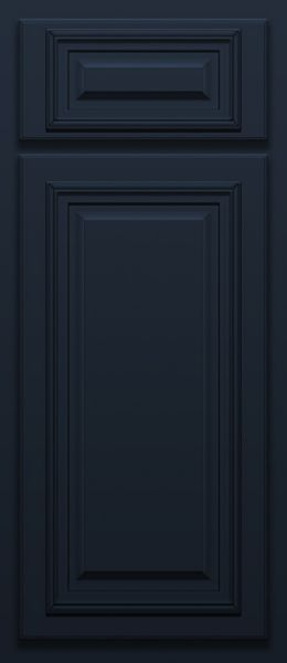 Navy Deluxe Door Sample (Custom Door Color)