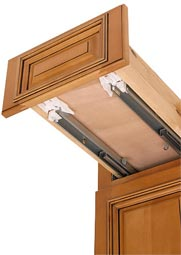 Full Extension Undermount Soft-Close Drawer Glides and Soft-Close Door Hinges
