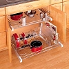 Chrome Cook Ware Organizer