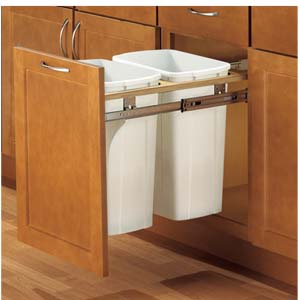 kitchen garbage can cabinet trash can pull out for 21 inch cabinet 4903