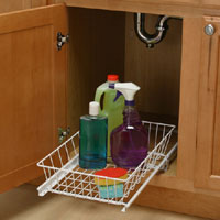 Under Sink Wire Basket 14