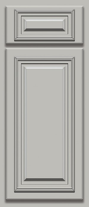 Light Gray Deluxe Door Sample (Custom Cabinet Door Color)