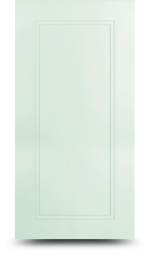 Parkview White Shaker Door Sample